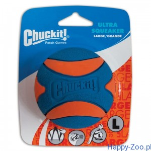 CHUCKIT ULTRA SQUEAKER BALL LARGE 7,5 cm