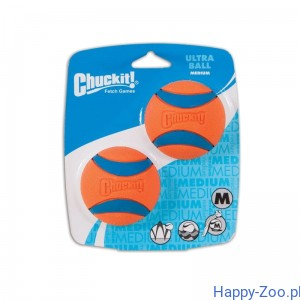 Chuckit ULTRA BALL MEDIUM 2 PAK