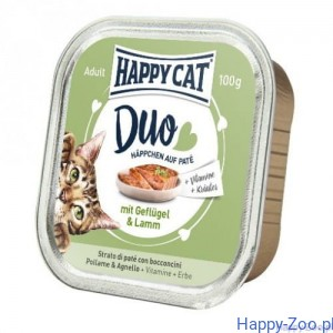 Happy Cat DUO Kurczak i Jagnięcina 100g