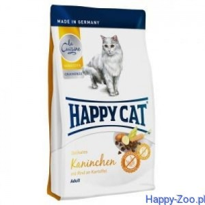 Happy Cat La Cuisine - Królik 0,3 kg, 1,4 kg, 4 kg