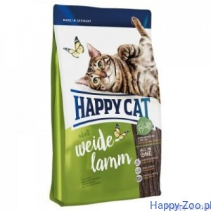 Happy Cat Supreme Adult Weide Lamm Kurczak/Jagnięcina 4 kg, 10 kg