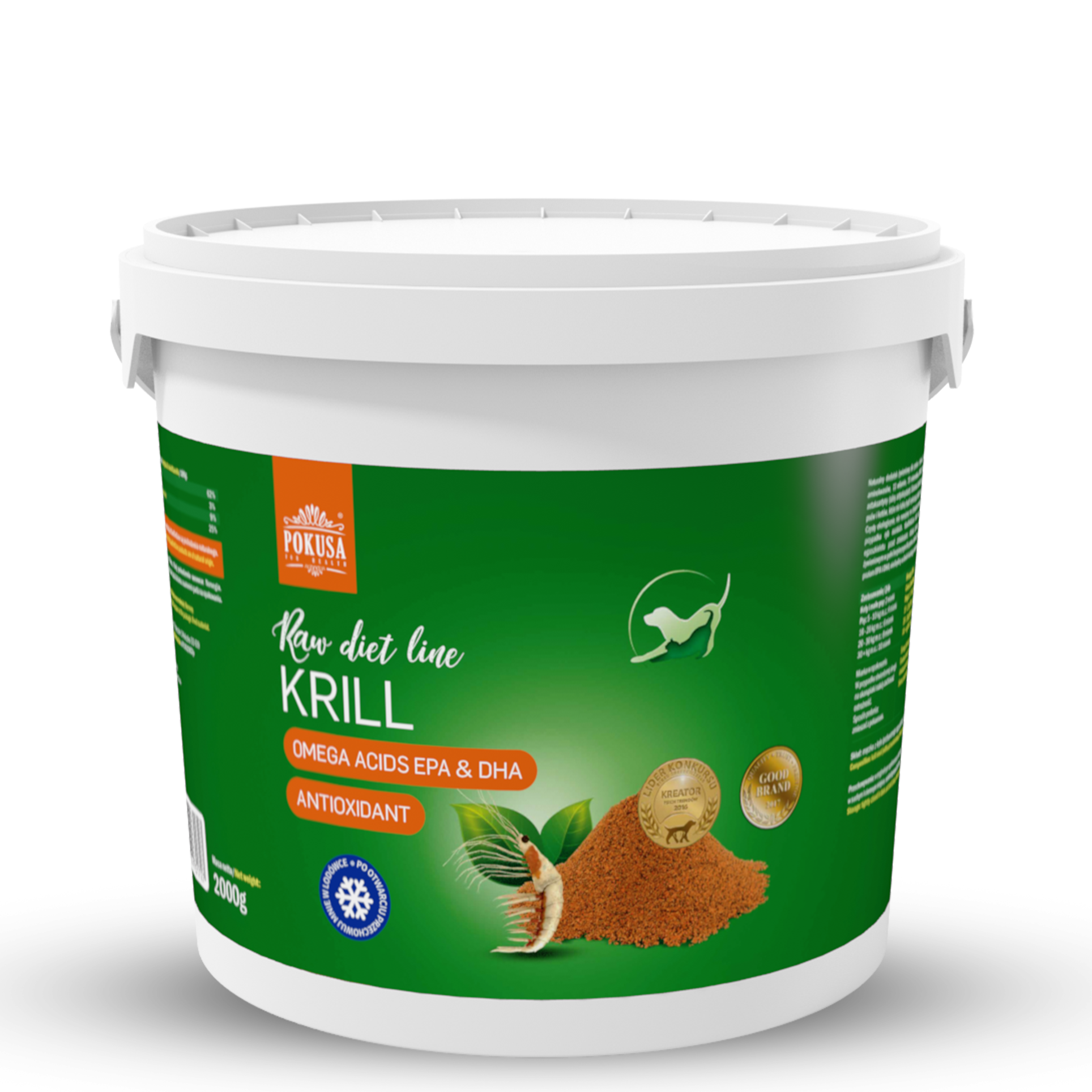 Pokusa RawDietLine Krill 2000g
