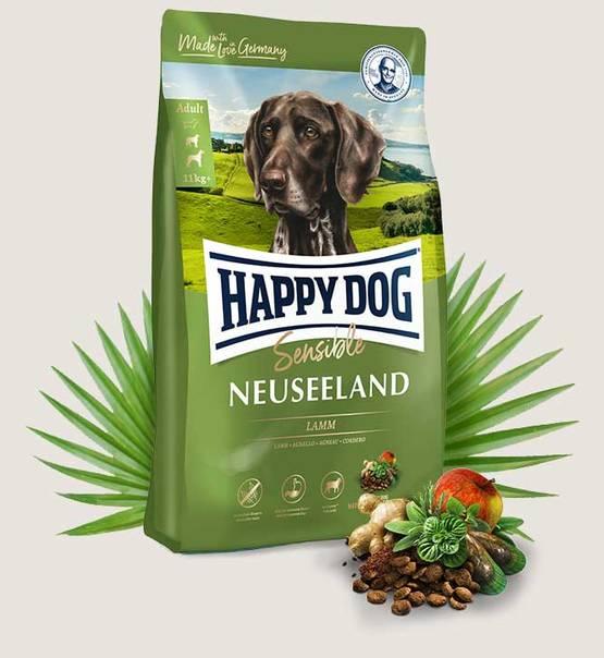 Happy Dog Supreme Sensible Nowa Zelandia Neuseeland 12,5 kg Jagnięcina