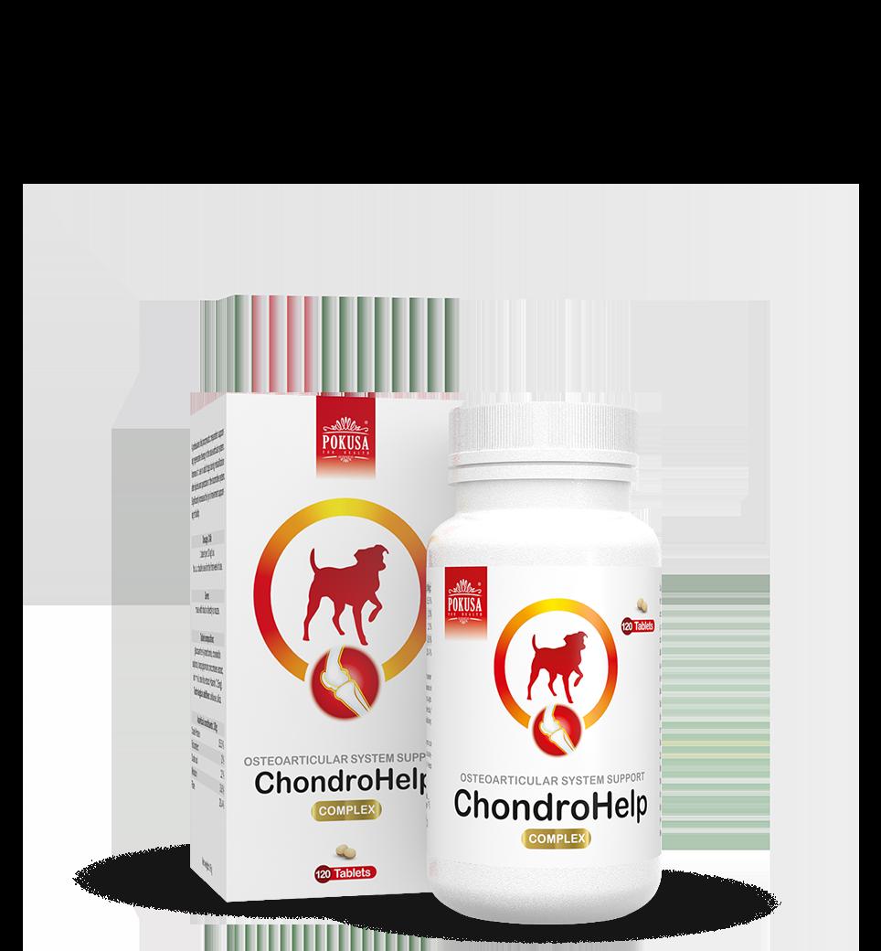 Pokusa ChondroHelp tabletki na stawy 120 sztuk