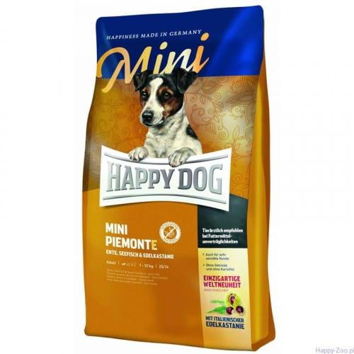 HAPPY DOG Mini Piemonte 4kg - karma dla psów ras małych o szczególnych wymaganiach żywieniowych