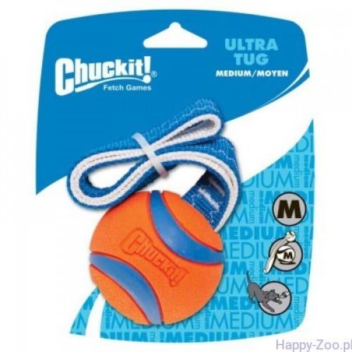 Chuckit! Ultra Tug (M) ø 6,5cm - ultra piłka na taśmie dla psa
