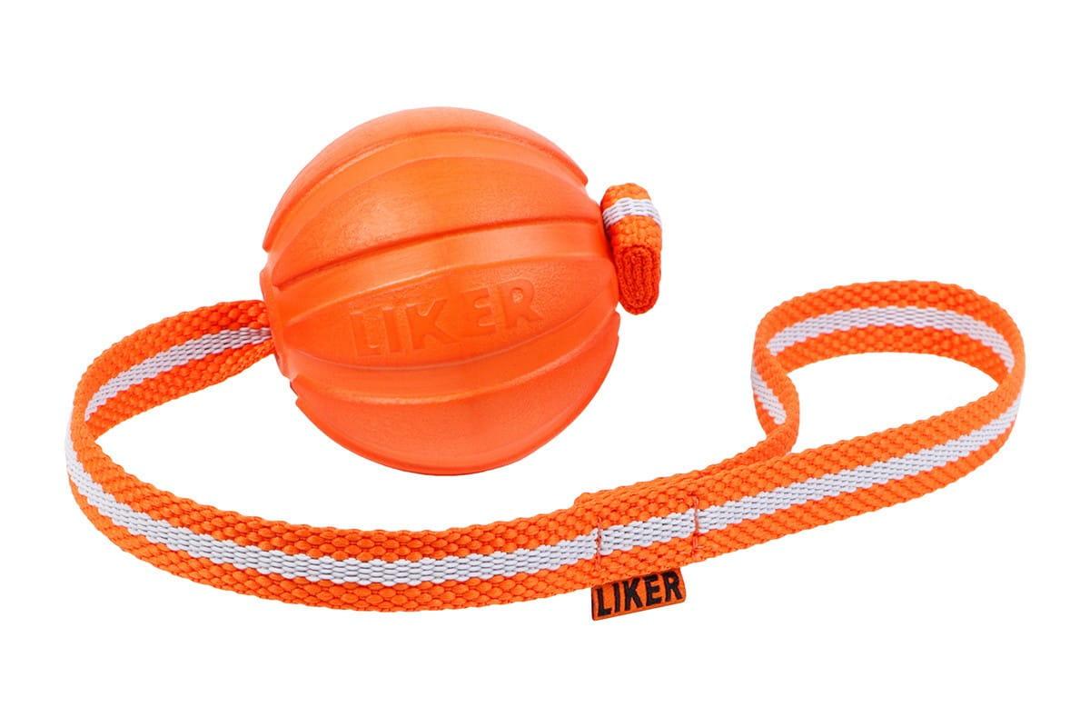 LIKER LINE 9 - Dog play & train - piłka na taśmie dla psa