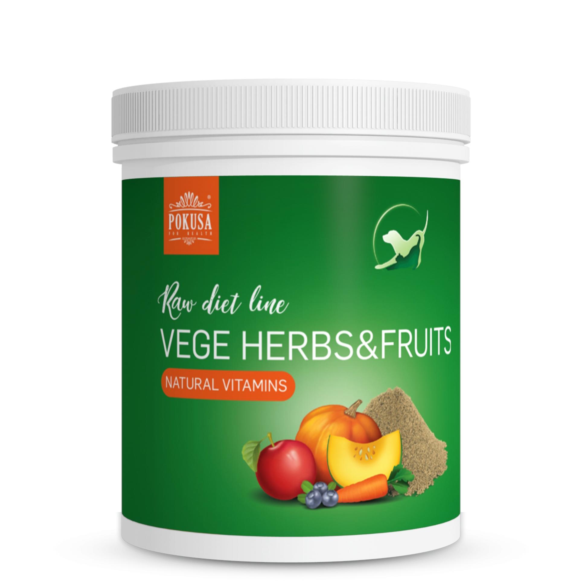 Pokusa RawDietLine VegeHerbs&Fruits 1000g